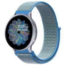 iMoshion Nylon-Armband Galaxy Watch 40/42mm / Active 2 42/44mm - Blau