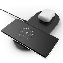 Belkin Dual Wireless Fast Charging Pad - 10W - Schwarz