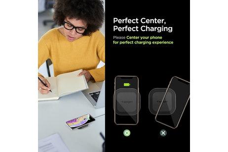 Spigen SteadiBoost Wireless Charger - 10W - Schwarz