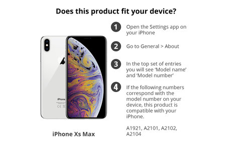 iPhone Xs Max hülle - Goldsterne Design TPU Bookcase