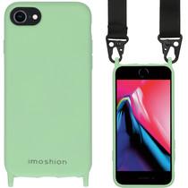 iMoshion Farbhülle mit Band - Nylonband iPhone SE (2020) / 8 / 7