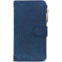 Luxuriöse Portemonnaie-Hülle Blau Samsung Galaxy S10