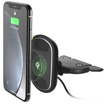 iOttie iTap 2 Wireless Fast Charging CD-Slot Mount - Schwarz