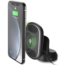 iOttie iTap 2 Wireless Fast Charging Mount - Schwarz