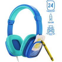 Planet Buddies Wired Headphones Do It Yourself - Colour and Swap - Blau