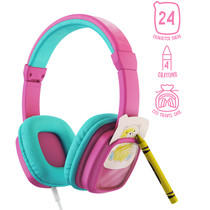 Planet Buddies Wired Headphones Do It Yourself - Colour and Swap - Rosa