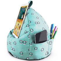 Planet Buddies Cushion Viewing Stand Tablet - Pinguin - Blau