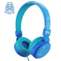 Planet Buddies Wired Headphones - Noah the Whale - Blau