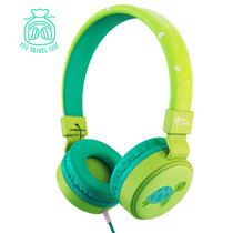 Planet Buddies Wired Headphones - Milo the Turtle - Grün