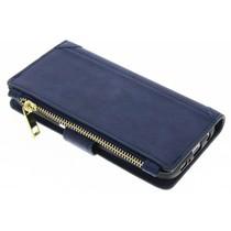 Blaue luxuriöse Portemonnaie-Hülle Samsung Galaxy S7 Edge