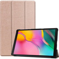 iMoshion Trifold Bookcase Rose Gold Galaxy Tab A 10.1 (2019)
