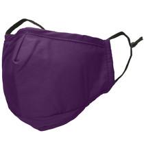 iMoshion Waschbarer Mundschutz aus 3-lagigem Baumwollgewebe - Lila