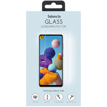 Selencia Displayschutz aus gehärtetem Glas Samsung Galaxy A21s