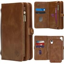 iMoshion 2-1 Wallet Booktype Braun für das iPhone Xr