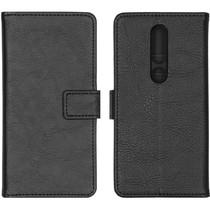 iMoshion Luxuriöse Buchtyp-Hülle Schwarz für Nokia 4.2