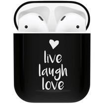 iMoshion Design Hardcover Case AirPods - Live Laugh Love