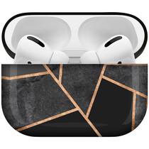 iMoshion Design Hardcover Case AirPods Pro - Black Graphic