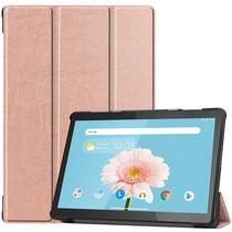 iMoshion Trifold Bookcase Lenovo Tab M10 - Roségold