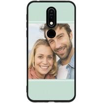 Gestalten Sie Ihre eigene Nokia 7.1 Gel Hülle - Schwarz