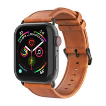 Dux Ducis Leather Band Braun Apple Watch Series 1-6 / SE - 42/44mm