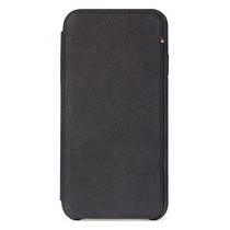 Decoded Leather Slim Wallet Schwarz für das iPhone Xr