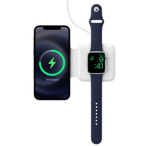 Apple MagSafe Duo Wireless Charger iPhone / Apple Watch - Weiß