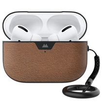 Mous Leather Protective Case für AirPods Pro - Braun