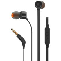 JBL Tune110 Bass In-Ear Headphones - Schwarz