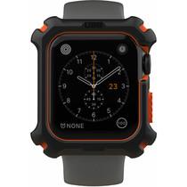 UAG Rugged Hardcase Schwarz / Orange für die Apple Watch 44 mm