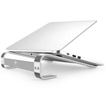 iMoshion Laptophalterung aus Aluminium für den Schreibtisch - Silber