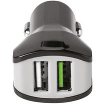 Celly Dual USB KFZ-Ladegerät - 3,4A - Noir