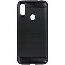 Brushed TPU Case Schwarz für das Xiaomi Redmi Note 7 (Pro)