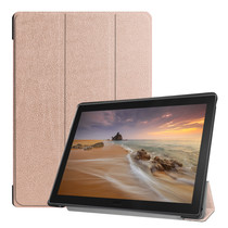 iMoshion Trifold Bookcase für das Lenovo Tab E10 - Rosegold