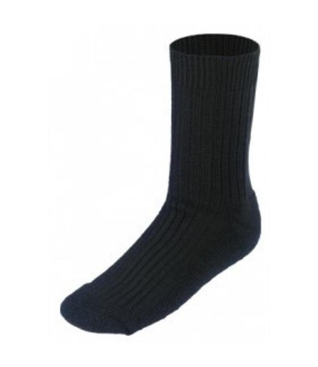Boru Boru Sok zwart 50% wol
