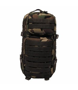 "Rugzak ""Assault I"" 30 liter, woodland camouflage"