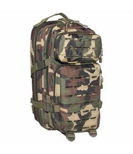 "Rugzak Assault I 30 liter, ""Laser"", woodland camouflage"