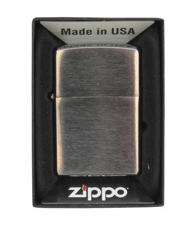 """Windproof aansteker, """"Zippo"""", chrome brushed"""