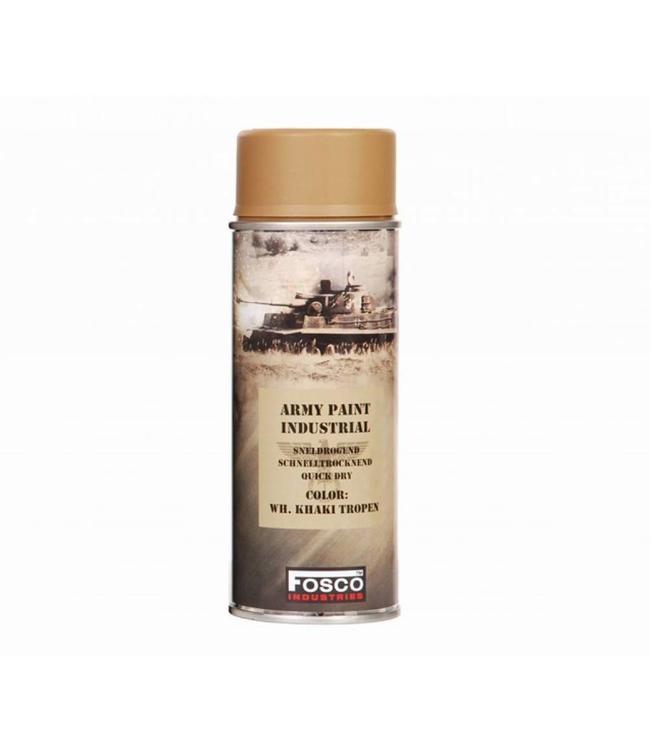 Legerverf Spray (spuitbus) 400 ml. WH Khaki tropen