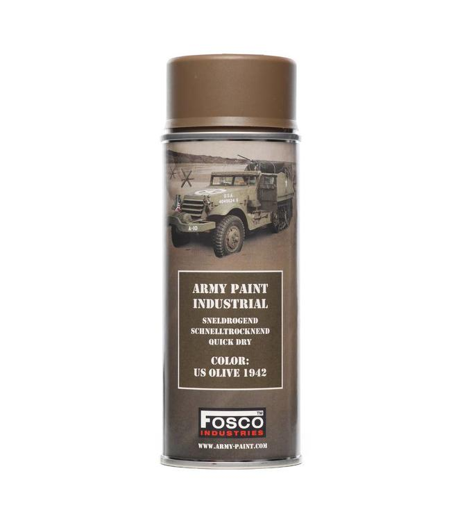 Legerverf Spray (spuitbus) 400 ml. US Olive 1942