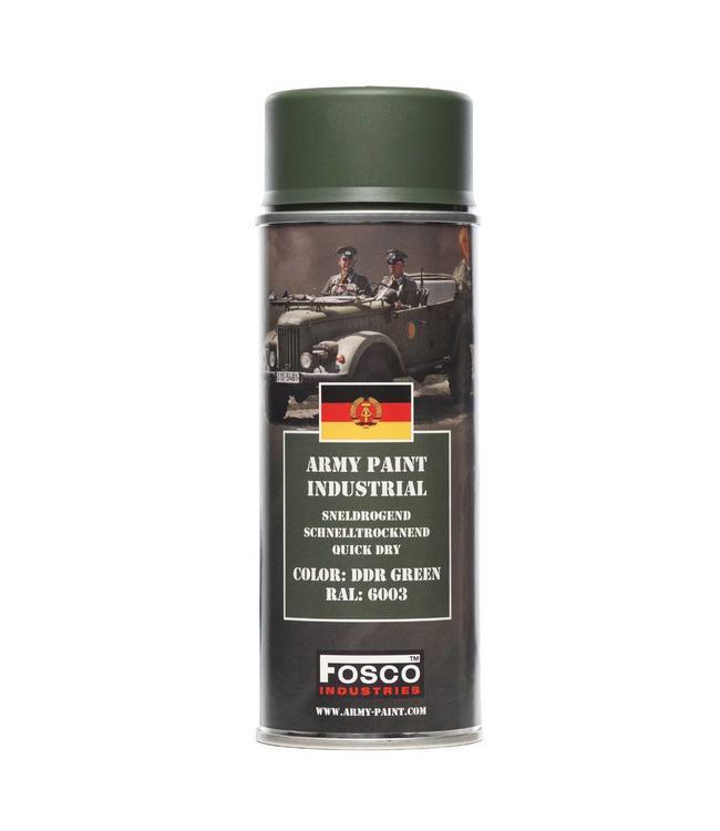 Legerverf Spray (spuitbus) 400 ml. DDR Green ral.6003
