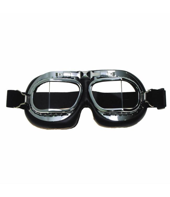 Vliegeniersbril, chrome
