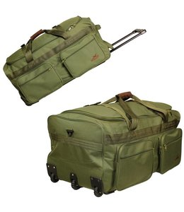 Greenlands Hunting/outdoor draagtas trolley duffle 110L