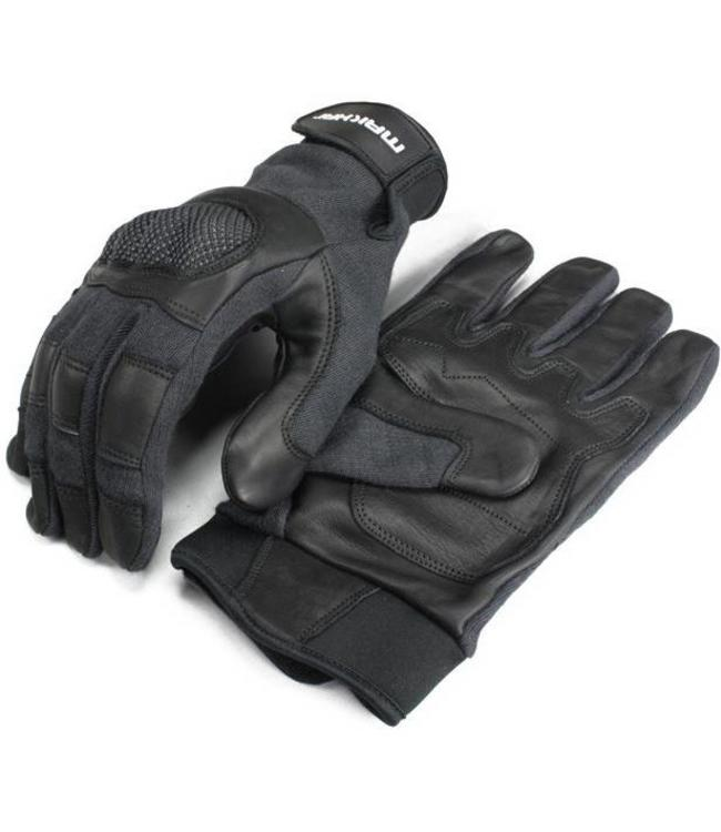 Makhai Combat Gloves Kevlar met harde knokkels  Snijwerende handschoenen