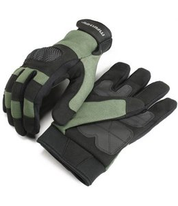 Makhai Assault Gloves in Fourway / Amara met Keprotec knokkels Airsoft handschoenen