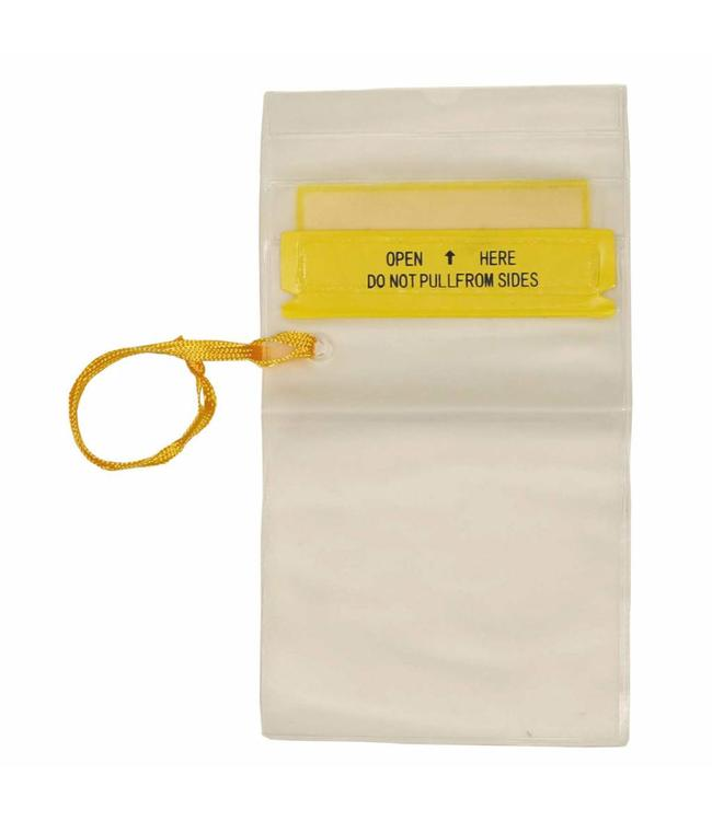 Waterproof Document Cover, transparent, lanyard, small