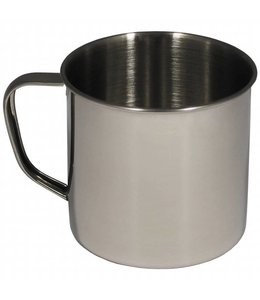 Beker, RVS, 9,5 X 9 cm, 500 ml