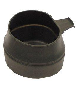 """Inklapbare beker, """"Fold-A-cup"""", OD groen, 200 ml, plastic"""