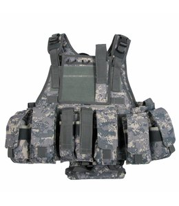 "Tactical vest ""Ranger"", AT-digital, 5 bags and pouches"