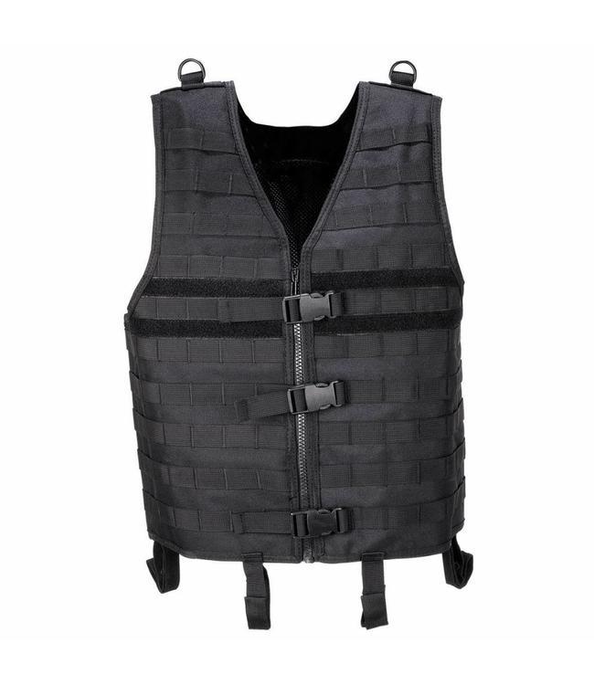 """Tactical vest """"Molle light"""", modular, Zwart"""