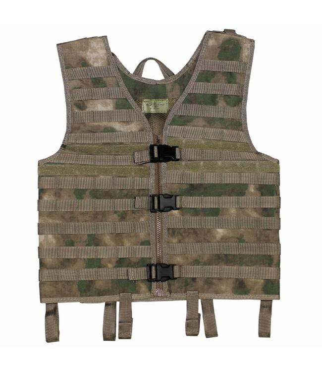 "Tactical vest ""Molle light"", modular, HDT camouflage Groen"